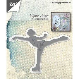 Joy!Crafts / Jeanine´s Art, Hobby Solutions Dies /  Punching Stencils: Ice Skating Art Runner