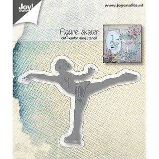 Joy!Crafts / Jeanine´s Art, Hobby Solutions Dies /  Ponsen Stencils: schaatsen Art Runner