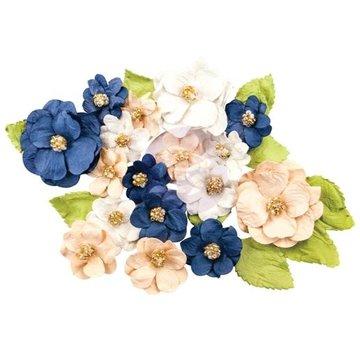 Prima Marketing und Petaloo Georgia Blue Bells Blomster: 28 stykker