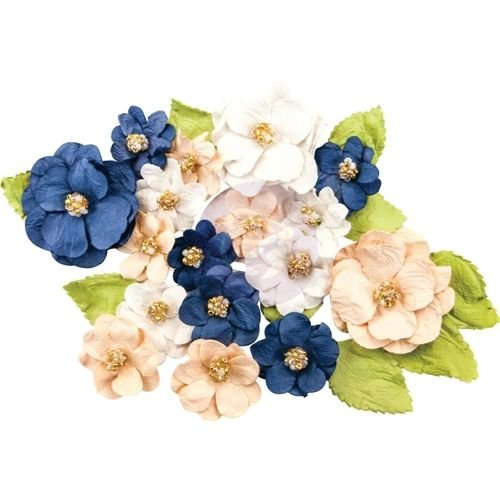 Prima Marketing und Petaloo Georgia Blue Bells Flowers: 28 Pieces
