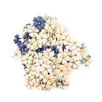 Georgia Blues Flowers Turner : 120 Pieces