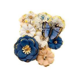 Prima Marketing und Petaloo Georgia Blues Flowers Madison: 10 pièces