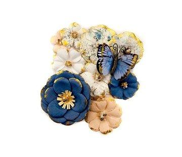 Prima Marketing und Petaloo Georgia Blues Flowers Madison: 10 Pieces