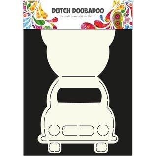 Dutch DooBaDoo Kunstmal for å designe kort i form av bil