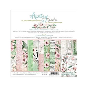 "Karten und Scrapbooking Papier, Papier blöcke BRAND NEW! Luxury paper block, ""Secret Place"" 15.2 x 15.2 cm"