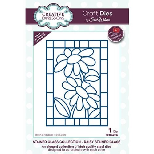 CREATIVE EXPRESSIONS und COUTURE CREATIONS Stencils, stained glass / stained glass