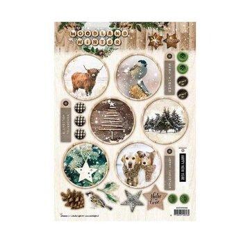 Bilder, 3D Bilder und ausgestanzte Teile usw... Creare immagini, motivi invernali, per creare con carta, album, cartoline,