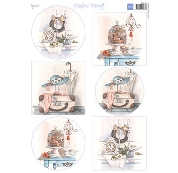 Marianne Design Scheda tecnica A4 Mattie's best: Brocante