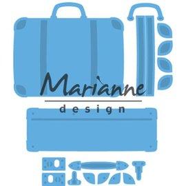 Marianne Design Plantillas de corte: maleta creable.