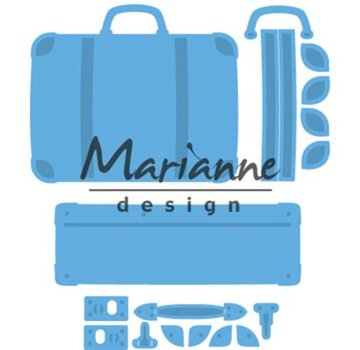 Marianne Design Punching templates: Creatable suitcase