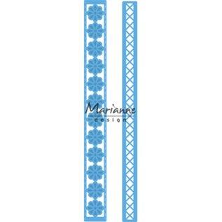 Marianne Design Plantillas: Creativamente largo borde de Anja.