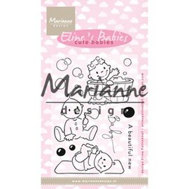 Marianne Design Stamp motif, banner: Baby, Eline's Cute Babies