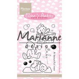 Marianne Design Stempelmotiv, banner: Baby, Elines søte babyer