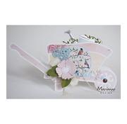 Dutch DooBaDoo Plastik Schablone: Schubkarre