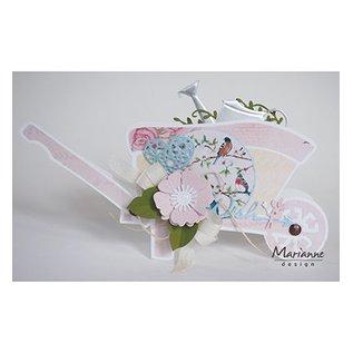 Marianne Design Bilder, Romantic Dreams - Pink, Basteln mit Papier, Scrapbook, karten gestalten