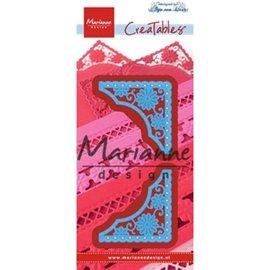 Marianne Design Pochoirs: Le coin d'Anja créable
