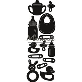 Marianne Design Poinçons de poing: Craftables, bébé