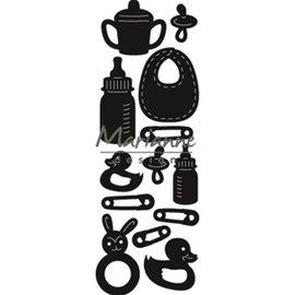 Marianne Design Punching Stencils: Craftables, Baby