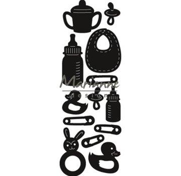 Marianne Design Stencil di punzonatura: Craftables, Baby
