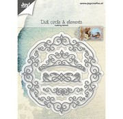 Joy!Crafts / Jeanine´s Art, Hobby Solutions Dies /  Cutting dies: decorative frames and swirls
