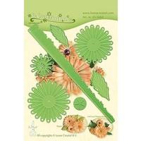 cutting dies, Leane Creatief, Chrysanthemum 3D