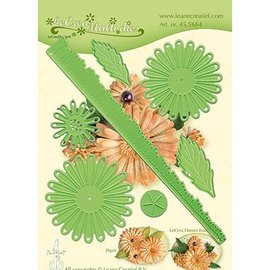 Leane Creatief - Lea'bilities und By Lene cutting dies, Leane Creatief, Chrysanthemum 3D