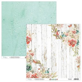 """Karten und Scrapbooking Papier, Papier blöcke Kaart- en plakboekblok, formaat 15,2 x 15,2 cm, """"Birdsong"""""""