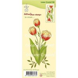 Leane Creatief - Lea'bilities und By Lene 3D-frimærket tulipan af Leane Creatief