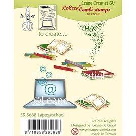 Leane Creatief - Lea'bilities und By Lene Stamp, Transparent, Leane Creatief, Laptop / School