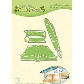 Leane Creatief - Lea'bilities und By Lene cutting die  by Leane Creatief, books and pen