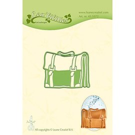 Leane Creatief - Lea'bilities und By Lene cutting dies by Leane Creatief, bag - schoolbag