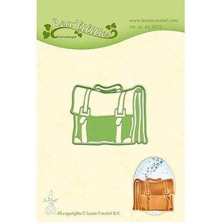 Leane Creatief - Lea'bilities und By Lene cutting die,  by Leane Creatief, bag - schoolbag