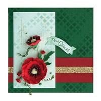 Mooie 3D Klaprosen ontwerpen voor decoratie op kaarten, albums, plakboek en vele andere objecten!