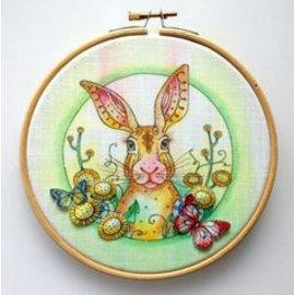 Stempel / Stamp: Transparent Tampon A5 avec motifs de lapin