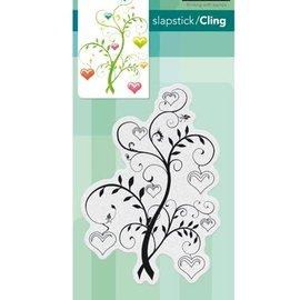 Penny Black Stempelmotiv, blomstrende hjerter