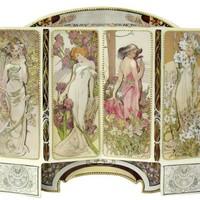 Vidéo du produit: Art Nouveau: Set d'artisanat carte Paravant