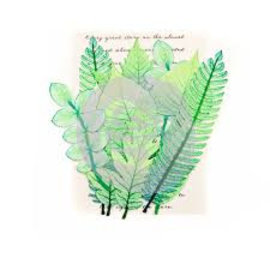 Prima Marketing und Petaloo Scrapbooking ornamenti, foglie