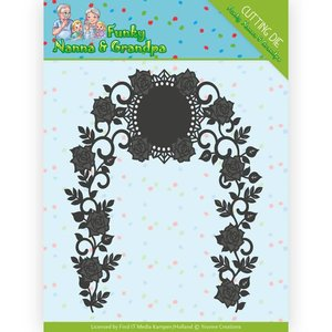 Yvonne Creations cutting dies by, Yvonne Creations, Rose garland