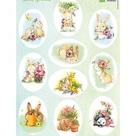 Marianne Design Bilderbogen A4 Sweet Bunnies