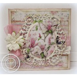 Studio Light A4 ausgestanzte Bogen, Blumen