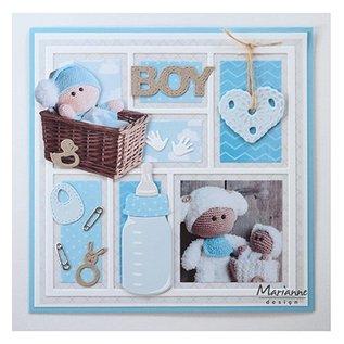 Marianne Design Bilderbogen A4 Baby