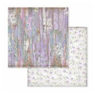 """Stamperia und Florella Karten- und Scrapbook Papierblock, Format 30,5 x 30,5 cm, """"Provence"""""""