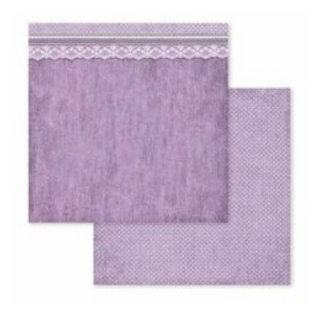 "Stamperia Card and scrapbook paper block, size 30.5 x 30.5 cm, ""Provence"""