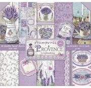 """Stamperia Bloc de papier pour cartes et scrapbook, format 30,5 x 30,5 cm, """"Provence"""""""