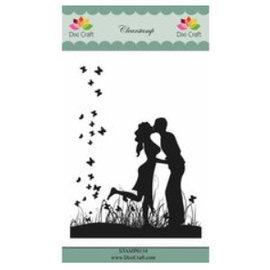CREATIVE EXPRESSIONS und COUTURE CREATIONS Motif imprimé Dixi Craft Love