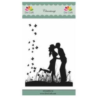 CREATIVE EXPRESSIONS und COUTURE CREATIONS Motivo stampato, Dixi Craft Love