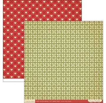 Designer Papier Scrapbooking: 30,5 x 30,5 cm Papier Carte e carta scrapbook, 30,5 x 30,5 cm