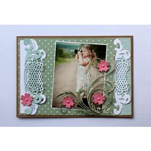 Joy!Crafts / Jeanine´s Art, Hobby Solutions Dies /  Matrices de découpe de Joy Crafts, fleur tourbillon