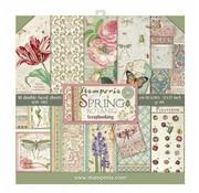 """Stamperia Kaart- en scrapbook blok, afmeting 30,5 x 30,5 cm, """"Botanica"""""""