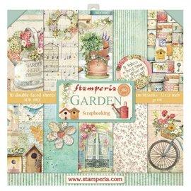 Stamperia und Florella Bloc de papier pour cartes et scrapbook, Stamperia